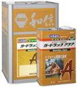 水系木材保護塗料【ガードラックアクア】屋内外用 14kg 各色
