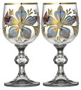 ボヘミアングラス サブリナ ワイングラス(S)ペア