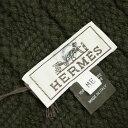 エルメス 帽子 H152080NK4 HERMES ソルド メンズ ニットキャップ カシミア100% FLANEUR BRONZE カーキ Mサイズ 【あす楽対応】【YDKG-tk】 楽天カード分割
