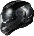 あす楽 オージーケーカブト(OGK KABUTO) RYUKI/リュウキ バイク/システムヘルメット ブラックメタリック Mサイズ