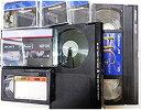 【中古】10本セット DVDダビング ビデオダビング VHS VHS-C ベータ ミニDV 8ミリビデオ⇒DVDへ ダビングサービス