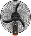 【中古】LAZNG リモコン壁掛け扇風機、18インチ回して3速ファンチルト機械、夏のオフィス/ホーム壁掛け扇風機