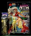 【中古】「BILL MAUS' NIRA」サイバーアクションフィギュア クリスタル&蓄光版 限定品 2種セット アメコミ 美少女 セクシー TOY
