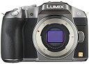 【中古】パナソニック ミラーレス一眼カメラ ルミックス G6 ボディ 1605万画素 シルバー DMC-G6-S