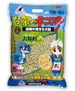 お茶のネコ砂紙製の流せる大粒 8L×5入【P20Aug16】【cat3】☆お茶猫砂流せる大粒8L(3)☆