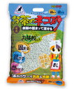 お茶のネコ砂紙製の固まって流せる 8L×5入【P20Aug16】【cat4】☆お茶猫砂固まる流せる8L(4)☆