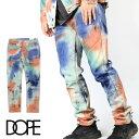 【40%OFF】 DOPE ドープ パンツ Diwali Denim タイダイ ペイント ダメージジーンズ ダメージ デニムパンツ デニム スキニー スキニージーンズ ジーンズ パンツ メンズ B系 ストリート系 大きいサイズ ファッション 服 おしゃれ かっこいい 人気 ブランド