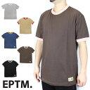 【40%OFF】EPTM エピトミ リンガー 半袖 Tシャツ ティーシャツ 半袖Tシャツ 無地 大きいサイズ ロング 長袖Tシャツ カットソー ブラック 黒 ホワイト 白 レイヤード 海外ブランド インポート メンズ ヒップホップ B系 ストリート VINTAGE RINGER TEE