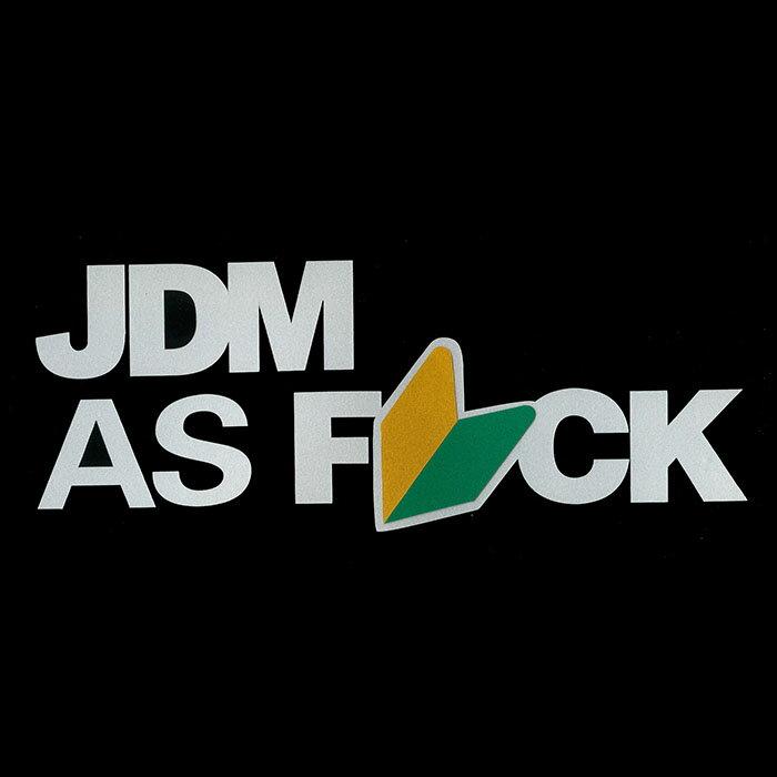 ステッカー / JDM AS FxCK【メール便対応】