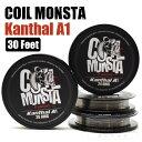 【メール便送料無料】【RBA DIY】 COIL MONSTA / Kanthal A1 / 30 Feet