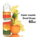 【E-リキッド】Cyber Liquids / Droid Drops【60ml