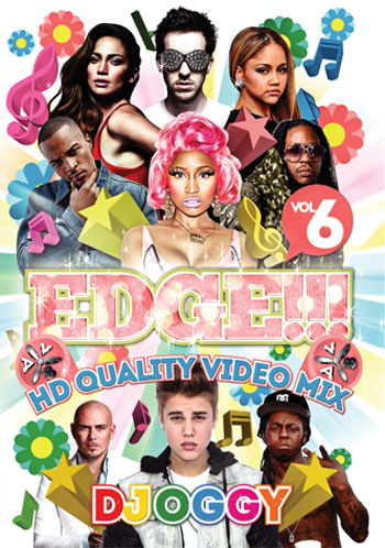 【メール便送料無料】DJ OGGY / EDGE!!! VOL.6 / HD Quality Video MIX / 日本語訳字幕付き