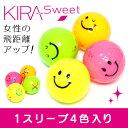 レディース ゴルフボール カラフル にこちゃん キャスコ Kira Sweet キャラ フルキャラ ...