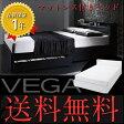 ダブルベッド ダブルベッド ベット ダブルベッド 収納付き フランスベッドマットレス付き ベッド ヴェガ スーパースプリング