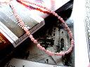 天然石付チェーンインカローズ&Silver連結チェーン【35cm】インカローズ ネックレス インカローズネックレス ロードクロサイト メンズ レディース アクセサリー ジュエリー シルバー パワーストーン シルバー925 silver925