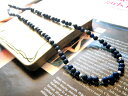 925 natural stone chain  lapis lazuli &amp;amp;Silver connection chain [40cm] lapis lazuli necklace lapis lazuli necklace entertainer purveyance for the government men gap Dis accessories necklace silver silver silver silver925 free shipping 10P06may13 belonging to