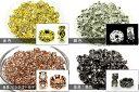 【パーツ】花型ロンデル 6mm [10個セット] 【パワーストーン 天然石 アクセサリー】