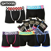 NEW OUTDOORブラックシリーズ ボクサーパンツ 5枚組 送料無料 福袋 ふくぶくろ
