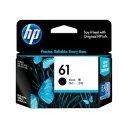 純正品 HP HP61 インクカートリッジ 黒 CH561WA (CH561WA) 目安在庫 ○