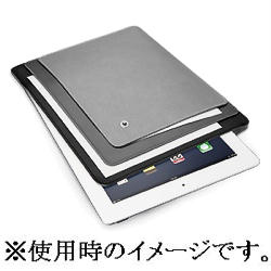 ラディウス 3POCKET FILING CASE for iPad 2/2012 mod