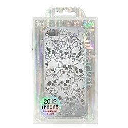 ラディウス Skull Jacket for iPhone 5 model RK-PU93