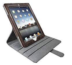ラディウス Pivot Leather Case 本革製iPad専用回転ス