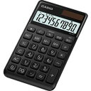 カシオ計算機(CASIO) カシオ 電卓 10桁 (ブラック)CASIO スタイリッシュ電卓 大判手帳タイ(NSS10BKN) メーカー在庫品