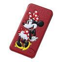 レイ・アウト iPod touch 2012/14/15 ディズニーポップアップレザー/ミニー(RT-DT7J/MN) 取り寄せ商品