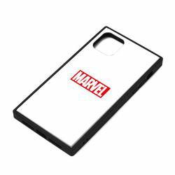 PGA iPhone 11用 ガラスHBケース [ロゴ/ホワイト](PG-
