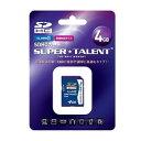 SuperTalent SDカード 4GB CLASS10 ST04SDC10 目安在庫=△[メール便対象商品]