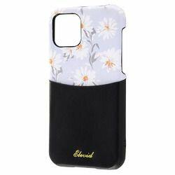 レイ・アウト iPhone 11 Pro オープンレザー 花柄 IC