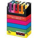 三菱鉛筆 ポスカ PC-5M 15色 PC5M15C 目安在庫=○
