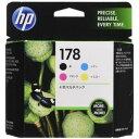 純正品 HP HP178 4色マルチパック CR281AA (CR281AA) 目安在庫=○