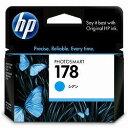 純正品 HP HP178インクカートリッジ シアン CB318HJ (CB318HJ) 目安在庫=○