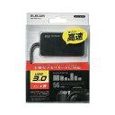 エレコム メモリリーダライタ USB3.0/SD・microSD・MS・XD・CF対応/ブラック(MR3-A006BK) メーカー在庫品