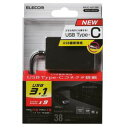 エレコム メモリリーダライタ/USB Type-C/USB3.1 Gen1/SD+MS+CF+XD(MR3C-A010BK) メーカー在庫品