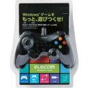 【P5E】エレコム 12ボタンUSBゲームパッド Xinput対応/振動・連射機能付/ブラック(JC-U3613MBK) メーカー在庫品