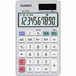 カシオ計算機 手帳タイプ電卓 SL-310A-N...の商品画像