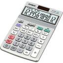 カシオ計算機 カシオ 電卓 12桁 ジャストタイプ グリーン購入法適合 JF-120GT-N 目安在庫=△[メール便対象商品]
