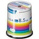 Verbatim DVD-R(Data) 片面2層 1回記録 8.5GB 2-8倍速 スピンドルケース 100P(DHR85H100SV1) 取り寄せ商品