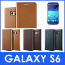 Galaxy S6 ケース 手帳型 本革 ハンドメイド 高級 レザー ベルトなし マグネット なし 薄型 スリム 手帳 カバー ギャラクシー S6 SC-05G カード 収納 ポケット 付き Samsung GalaxyS6 サムスン ギャラクシーS6 対応 VRS Design VERUS Genuine Leather