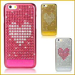 iPhone6s / iPhone6 ケース Bling My Thing Extravaganza Heart ハードケース created with Swarovski Crystals for Apple iPhone 6s / iPhone 6 4.7 インチt 【国内正規品】 国内正規品証明書 付
