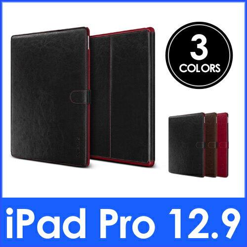 iPad Pro レザーケース VERUS Dandy Layered K 手帳型 ブック タイプ PU レザー ケース for Apple iPad Pro 12.9 インチ 【国内正規品】 国内正規品証明書 付