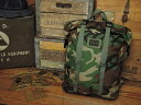 MIS ROLL UP BACKPACK [WOODLAND CAMO] / エムアイエス ロールアップ バックパック [ウッドランド カモ] [アメリカ製]