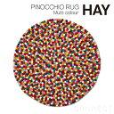 HAY(ヘイ) / PINOCCHIO RUG〈マルチカラー〉 Φ90 cm北欧 デンマークブランド ラグ マット 絨毯