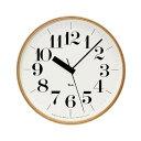 時計 壁掛け 掛け時計 掛時計 電波時計 【 送料無料 】 LEMNOS ( レムノス ) / Riki clock ( リキクロック) 渡辺カのデザイン 電波時計 太字 L (φ305mm)ご予約商品【2/20入荷・発送予定】LEMNOS ( レムノス ) / Riki clock ( リキクロック)電波時計 太字 L (φ305mm)渡辺カ デザイン 時計 壁掛け 掛け時計 掛時計 【 送料無料 】