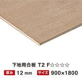 下地用合板 T2 12mm 900×1800 F☆☆☆☆