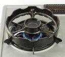 【入荷次第の発送となります。】トーセラム・温度センサー付きガスコンロ専用セラミック五徳(焼き台)