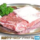 特上国産牛サーロイン1kgブロック【4129】【業務用】【訳あり】【焼肉セット】【あす楽対応