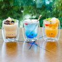 耐熱アニマルダブルグラス シロクマ/ネコ/イヌ シービージャパン【ダブルウォールグラス/グラス 二重】